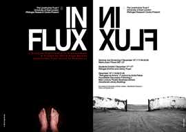 In Flux Exhibition Flyer