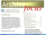 Archive Newsletter