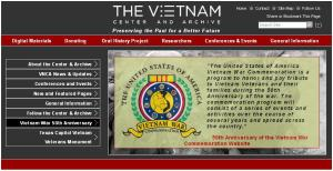 The Vietnam Centre and Archive