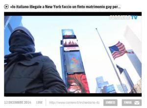 CorriereOnLine, 14 December 2014