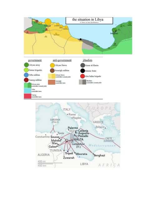 2015-April Libya Situation Map