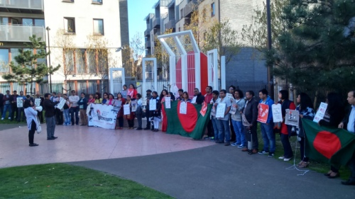 Rally against sexual assaults on women at Altab Ali park. Courtesy: P V Dudman