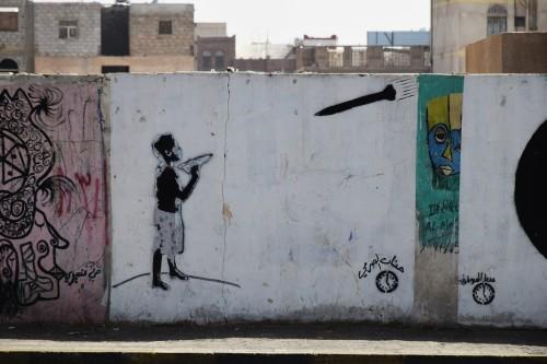Street art in Yemen. Photo by Thomas Eilers.
