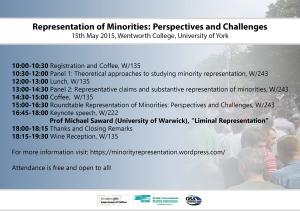 Flyer Representation of Minorities